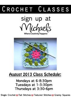 Crochet Class Schedule Chic Crochetique
